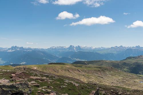 Dolomitenblick am Villanderer Berg