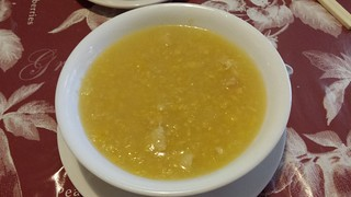 Sweetcorn and Chicken Soup from Tian Ran