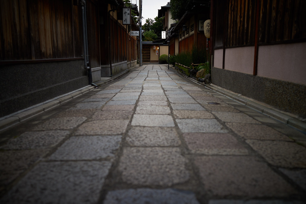 Ishibekoji alley 石塀小路
