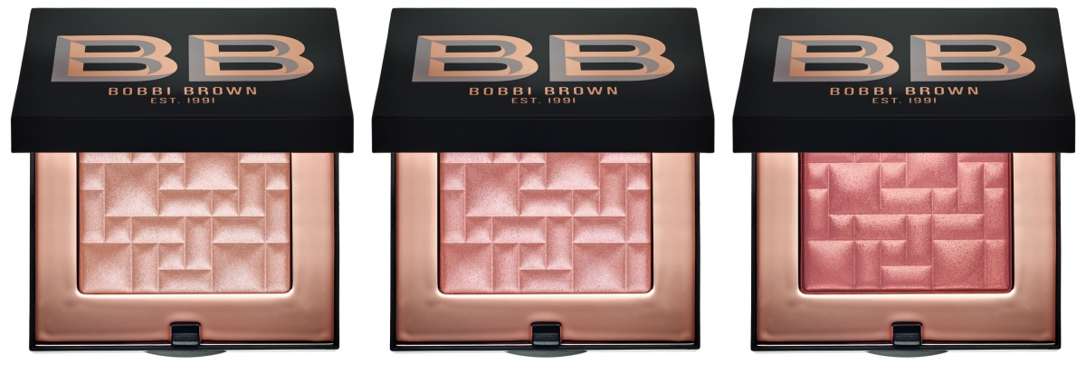 Bobbi Brown Highlighting Powder Swatches