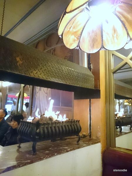 Le Calalou fireplace