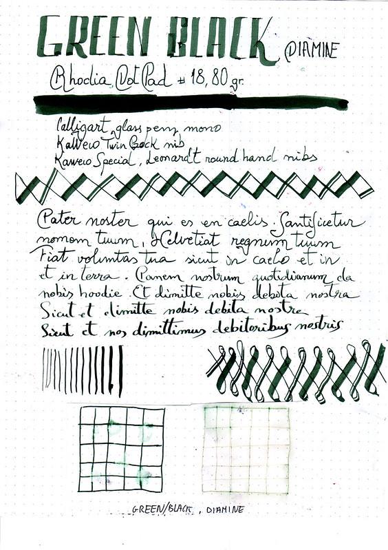 Diamine Green Black-1