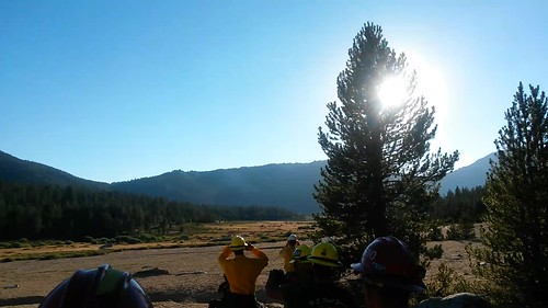 Para-cargo delivery, Horsehoe Fire, Inyo National Forest