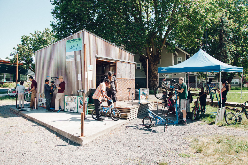 New Columbia Bike Repair Hub