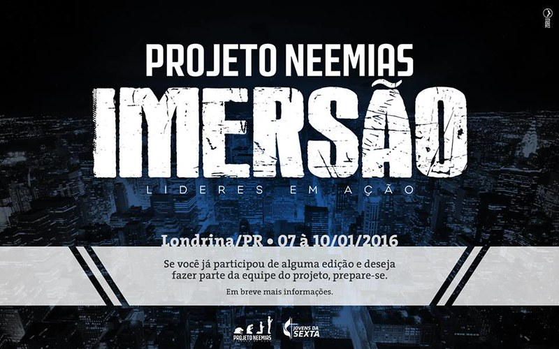 Projeto Neemias - Imersão