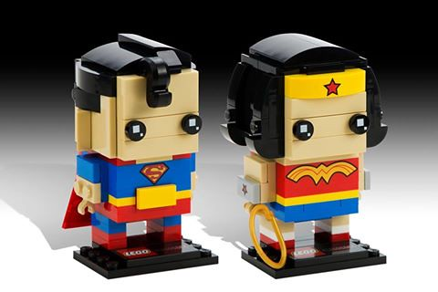 LEGO DC BrickHeadz Superman & Wonder Woman
