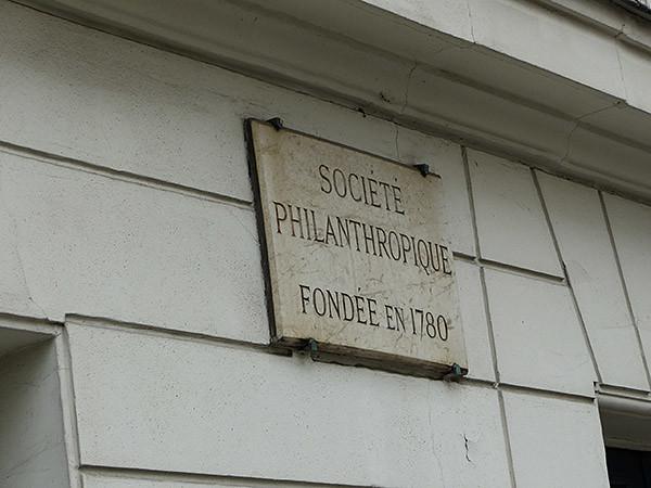 société philanthropique