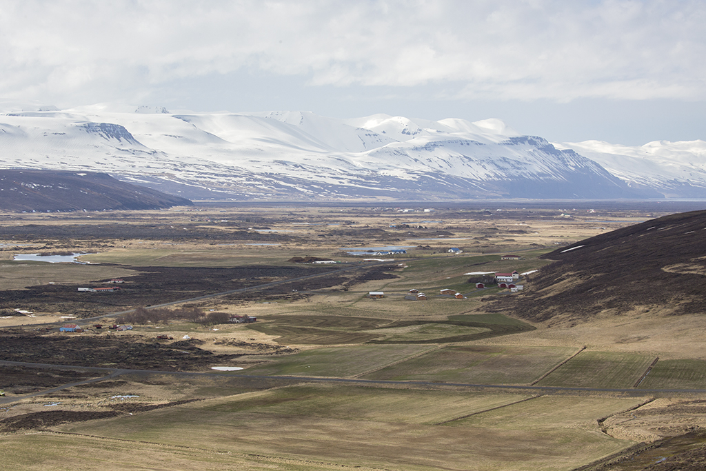 River Laxa valley    Iceland