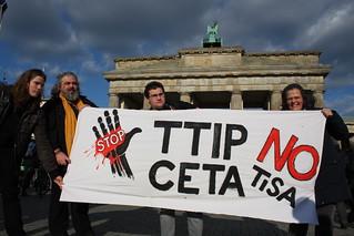Globaler Aktionstag gegen TTIP, CETA & TiSA