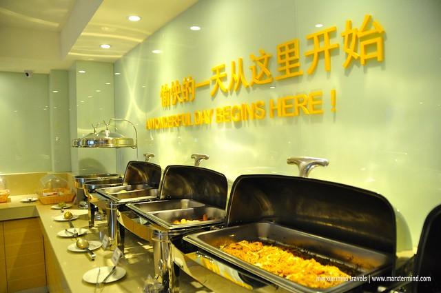 City Comfort Hotel Buffet Breakfast