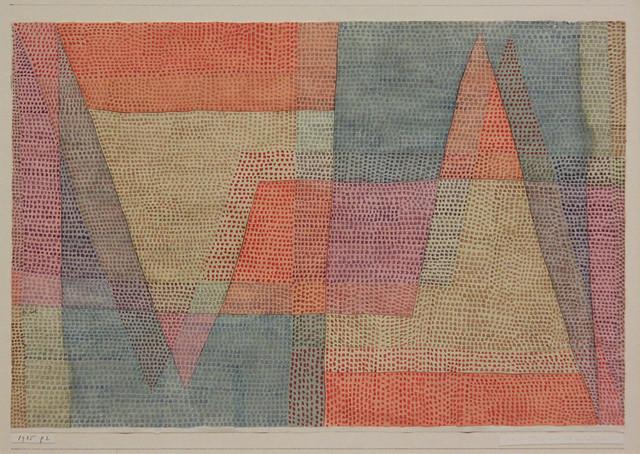das licht und die Scharfen, Paul Klee, 1935
