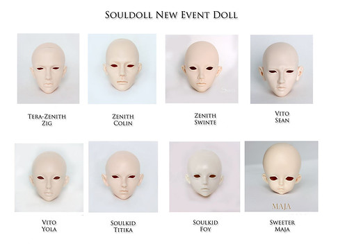 souldoll new event doll