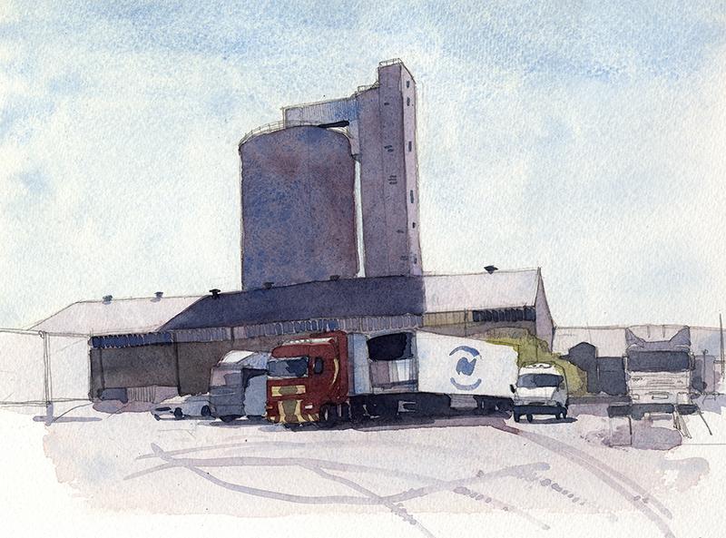 Sugar Beet Factory, Cupar
