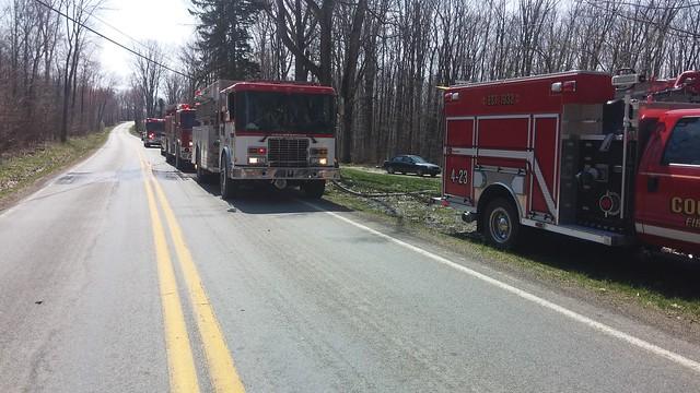 Brush Fire Pettis Road April 2015