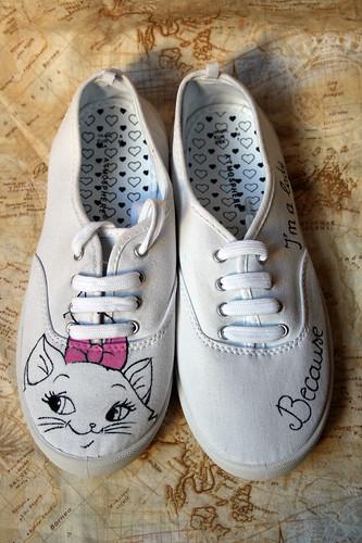 Custom Marie sneakers
