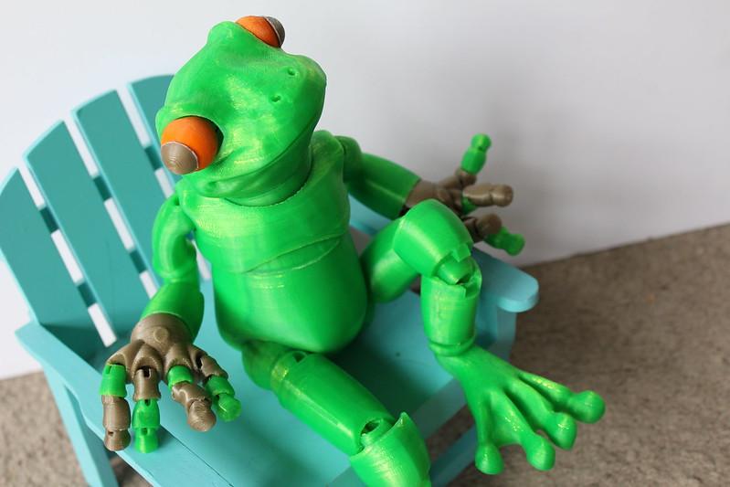 3D Printed Frog
