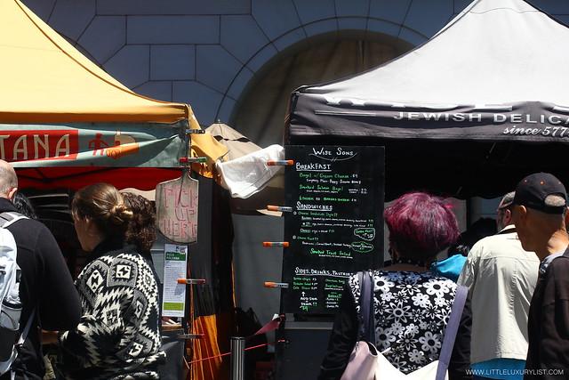 San Francisco Ferry Building Farmers Market food by little luxury list