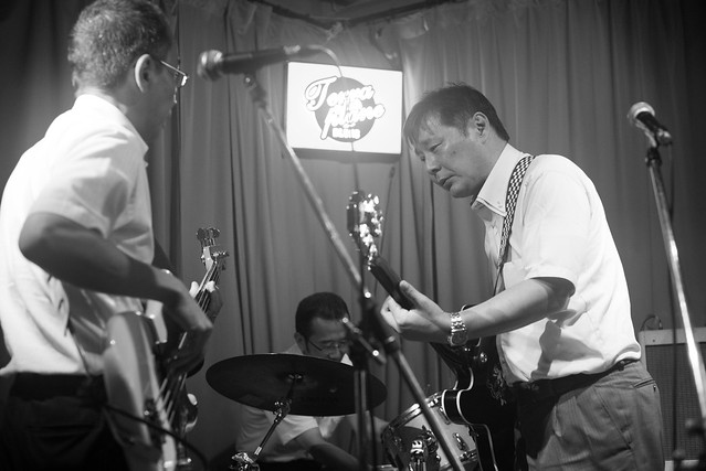T.G.I.F. blues session at Terraplane, Tokyo, 08 Jul 2016 -00370