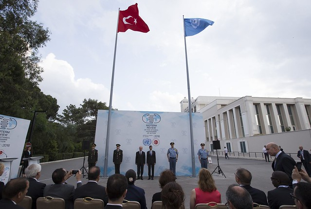 Flag Raising Ceremony -  Istanbul Programme of Action for the Least Developed Countries