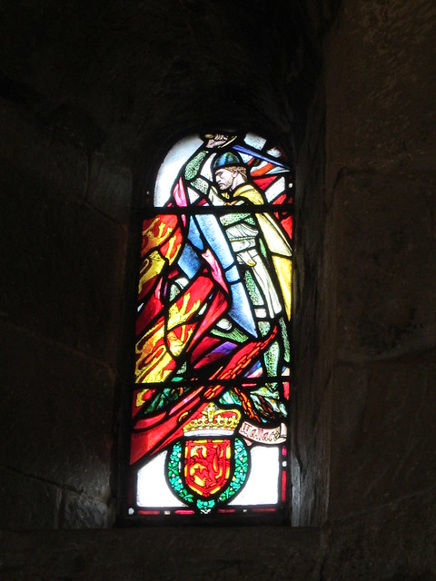 Edinburgh Castle  St Margarets Chapel Stained Glass Window 1