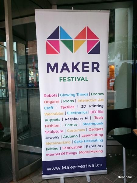 Maker Festival 2016 poster