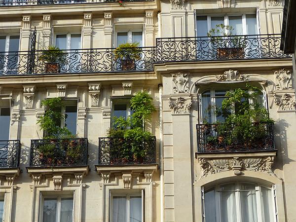 balcons verts