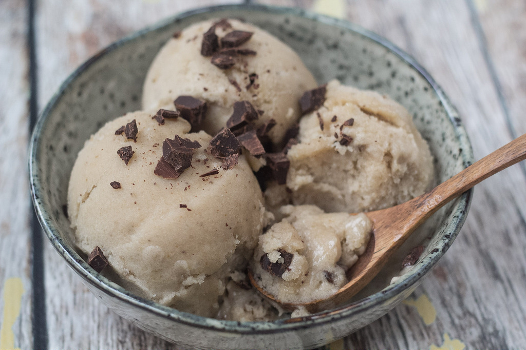 Recipe for healthy banana ice cream