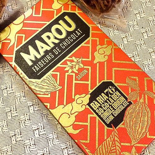 Marou chocolate, Vietnam ベトナム土産のマルゥ・チョコレート