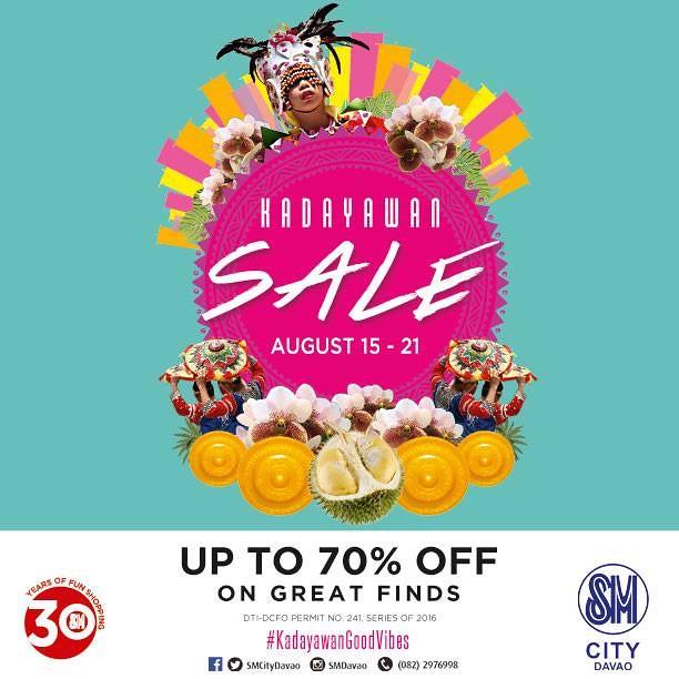 Kadayawan Sale 2016 at SM City Davao by SMCD