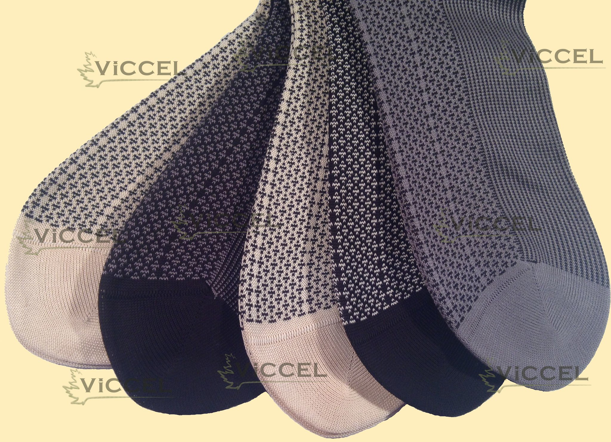 Viccel Qualitty Dress Socks, happy feet, happy people, direct sale from the producer at reasonable prices,stripe dots cross gray-black red-black black-raw Colors 100% Cotton