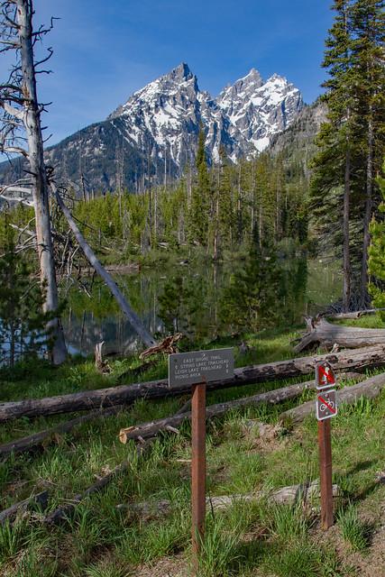 String Lake Trail Sign