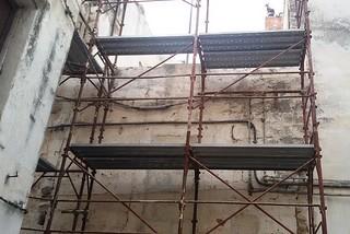 Noicattaro. Messa in sicurezza palazzo via Madonna delle Grazie front