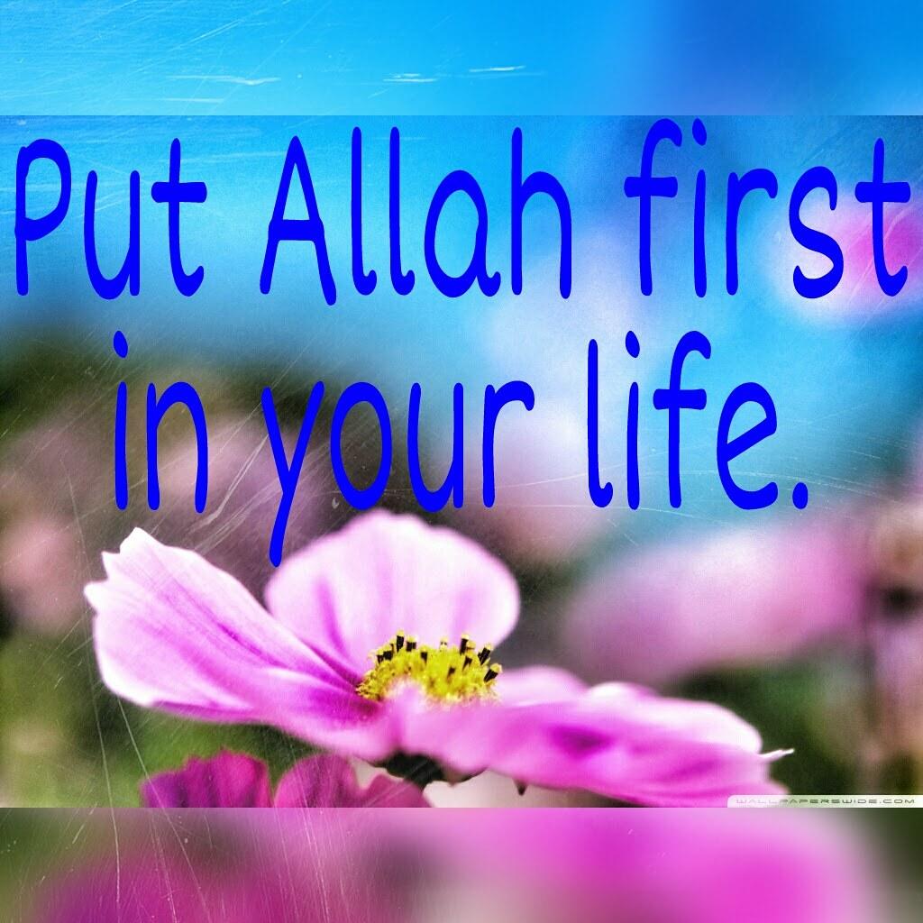 Allah First