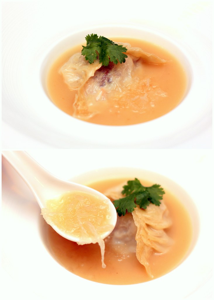 Marriott Hotel Wan Hao Chinese Restaurant Birds Nest Dumpling in Superior Sauce Soup