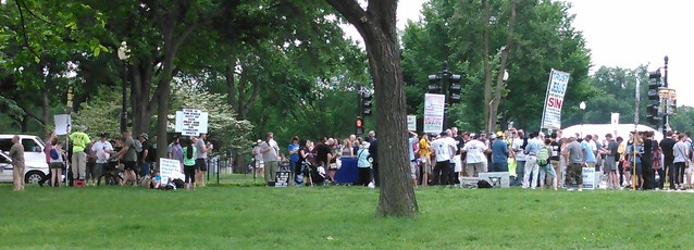Bible-thumping protesters at the Reason Rally