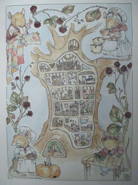 Hedgefairy: Brambly Hedge Tribute