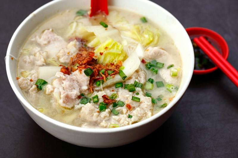 Pork Noodles Yuyi Pudu