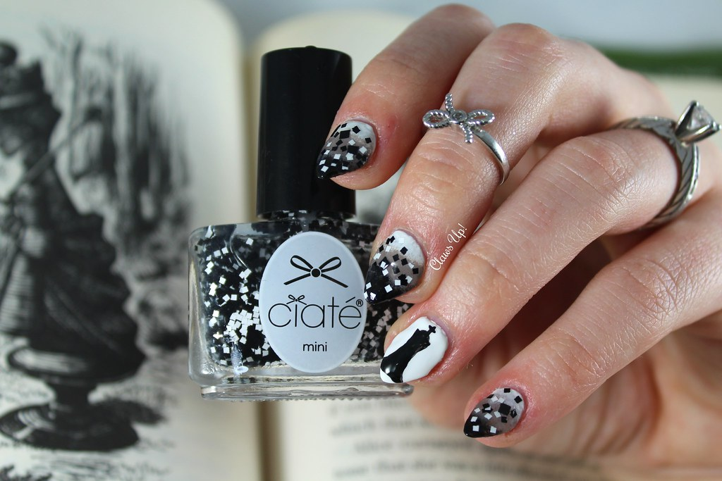 Ciate Check Mate chess nail art