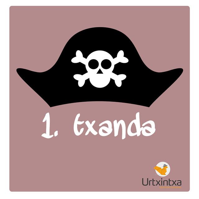 Udaleku Piratak 2016 1.txanda