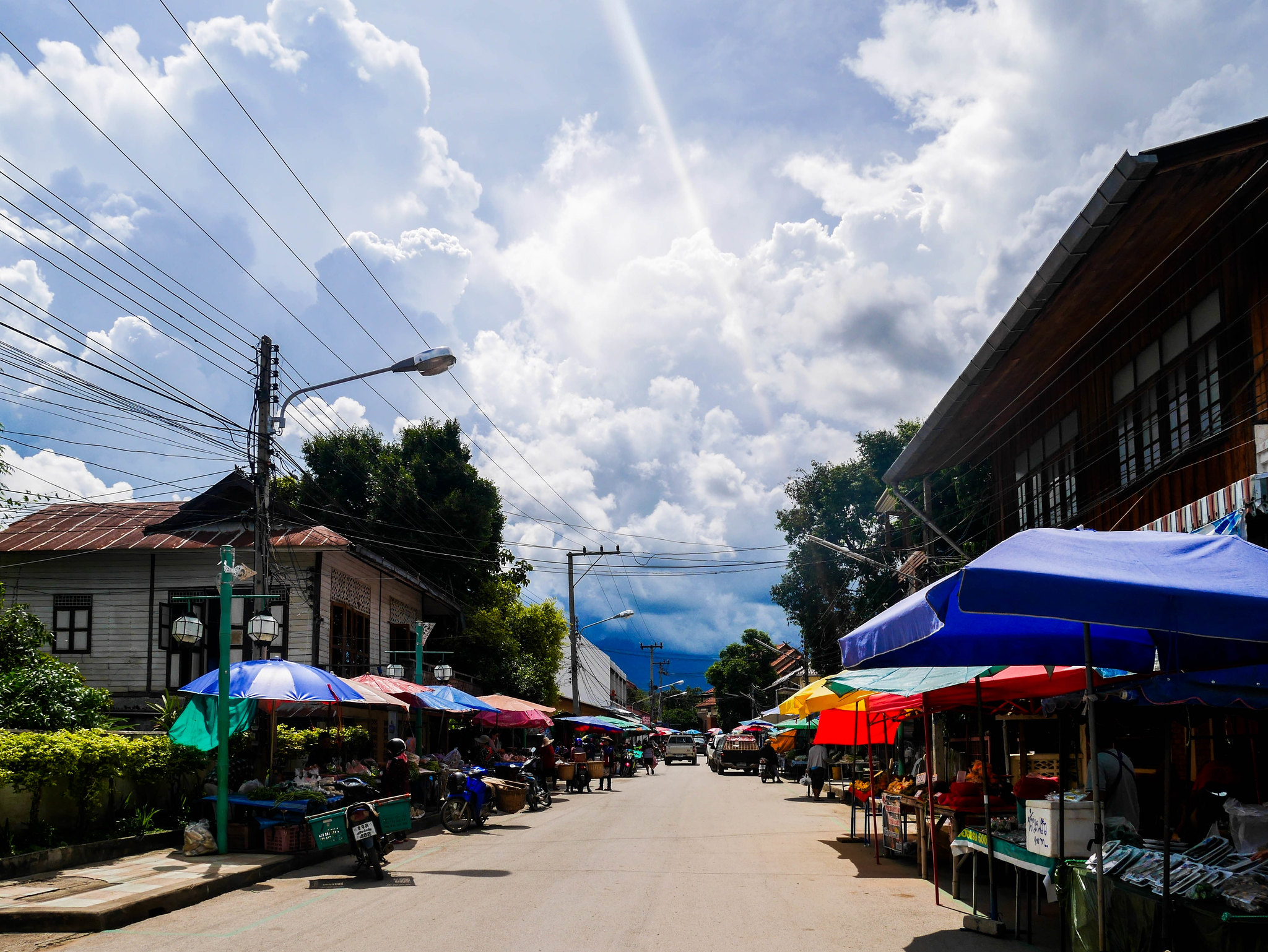 Street market in Pai