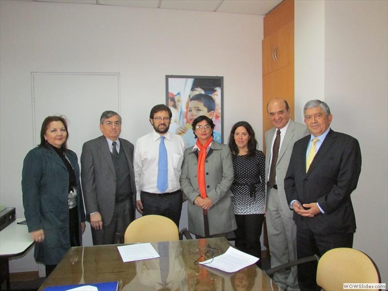 Anec se reunió con Dipres por Mejoramiento de Remuneraciones para la Contraloría - 10 Abril 2014