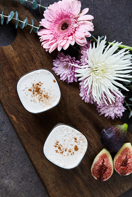 Fig Vanilla Bean Almond Milk