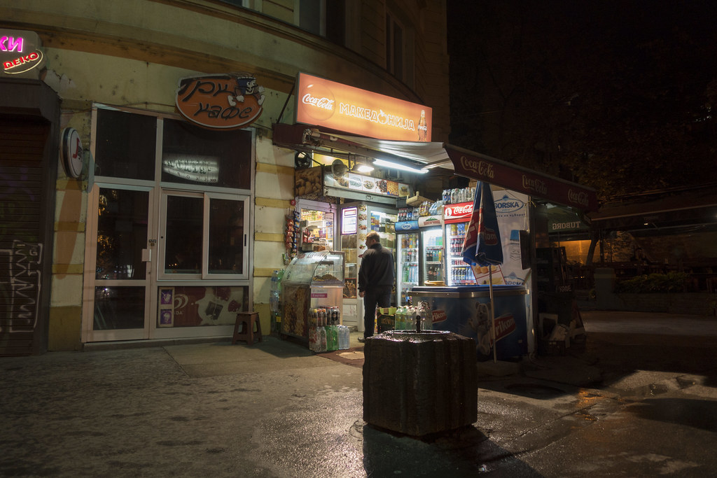 Night at the Kiosk