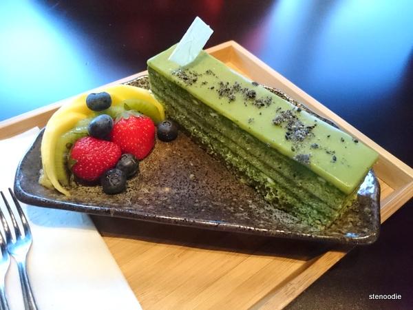 Tendou-style Matcha Opera Cake