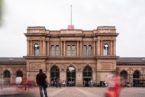 Mainz Hauptbahnhof, Long Exposure