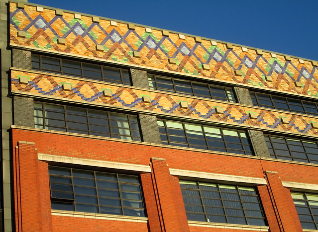 Templeton Carpet Factory, Glasgow, Detail