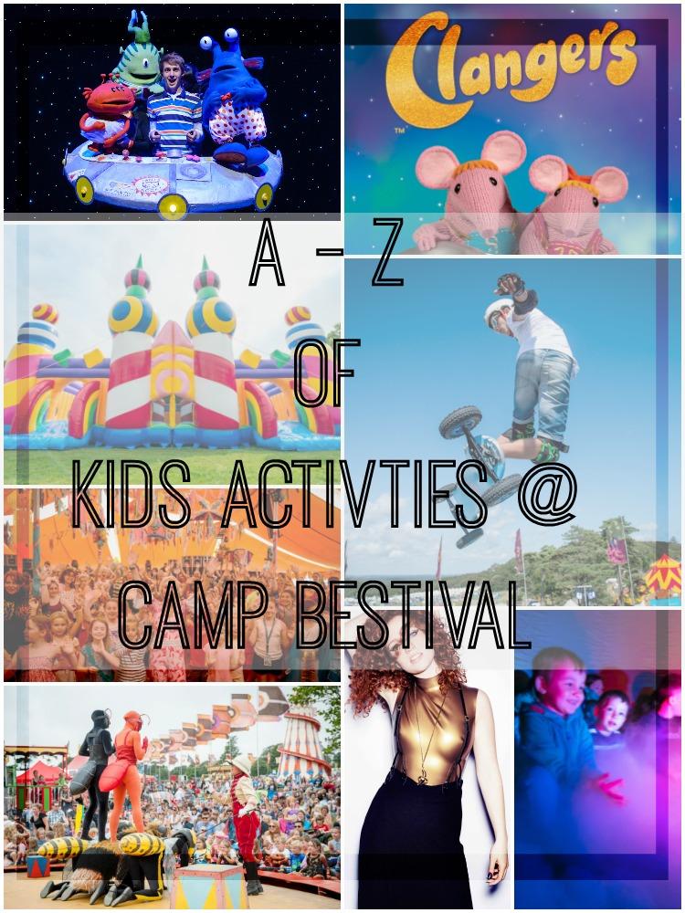 A-Z camp bestival