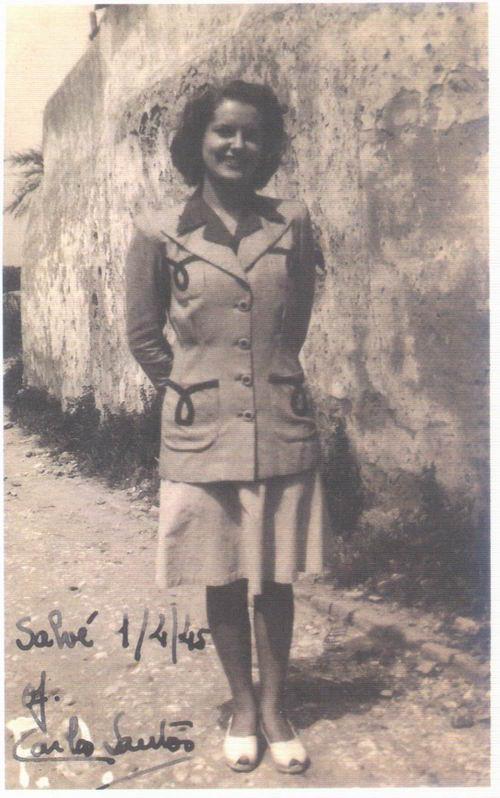 Maria Eugénia, 1945