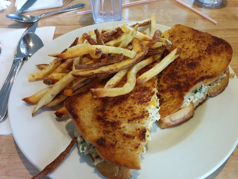 Trinidad Bay Eatery | Tuna melt sandwich