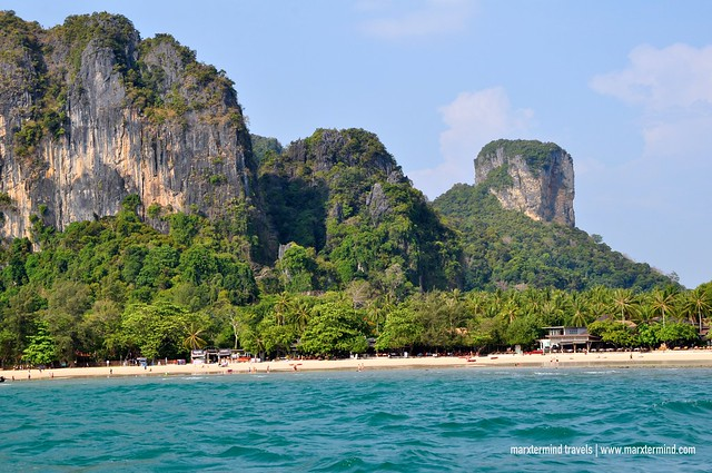 Railey Beach Krabi Thailand